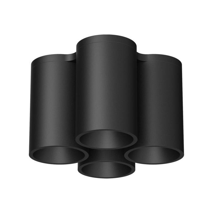 2074SQ/.. - EQUAL, opbouw plafondverlichting - rond - vast - down
