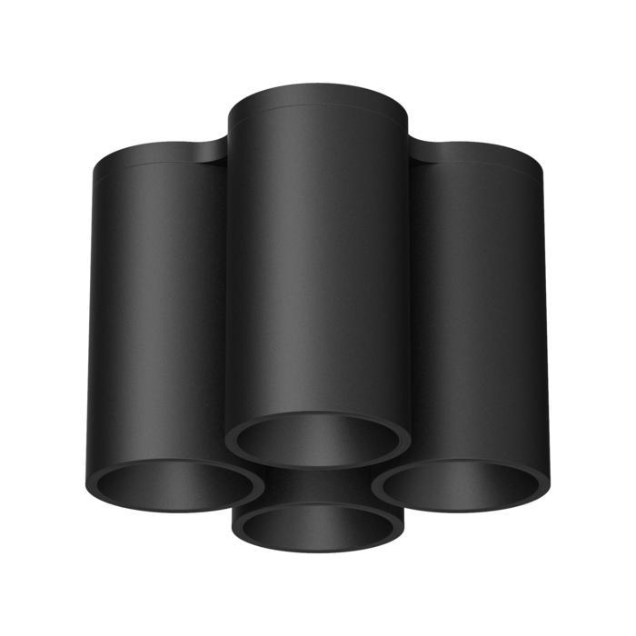 2084SQ/.. - EQUAL, opbouw plafondverlichting - rond - vast - down