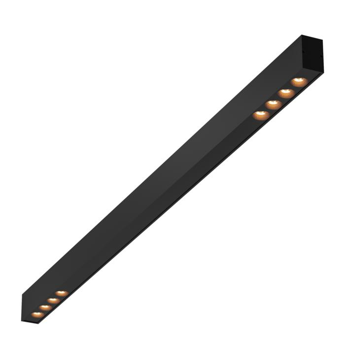 2945.1400/.. - STELLA LINE, vast - down - profiel met 2x4 ZIA LED vast - met LED driver