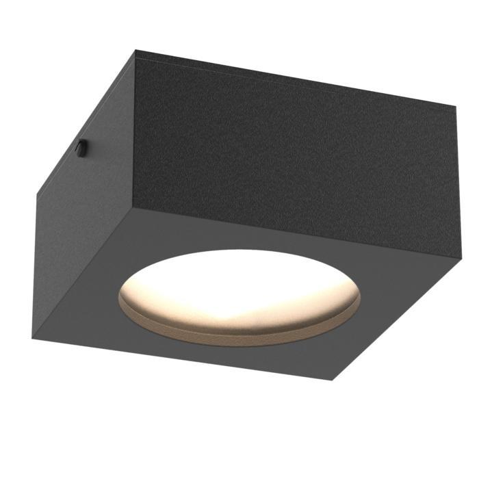 W3062W/.. - TOLEDO, opbouw plafond -of wandlicht - vierkant - vast