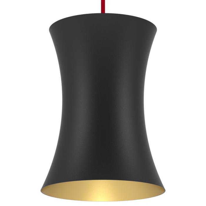 3404/.. - CLARA, hanglamp - vast - met 1,5m textielkabel en trekontlasting aan fitting