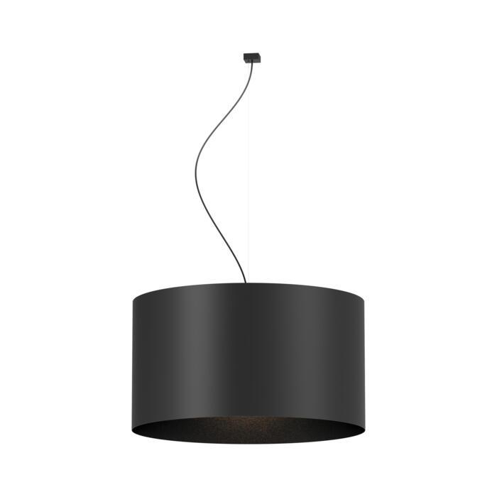 3410S/.. - COROLLA, hanglamp - opghanging met staalkabel + textielkabel en rozet