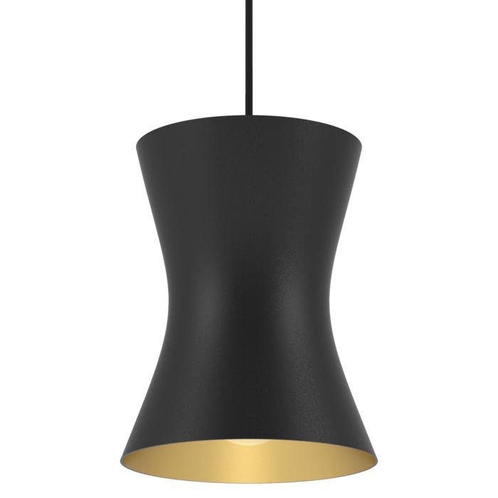 3411/.. - CLARA, hanglamp - vast - met 1,5m textielkabel en trekontlasting aan fitting