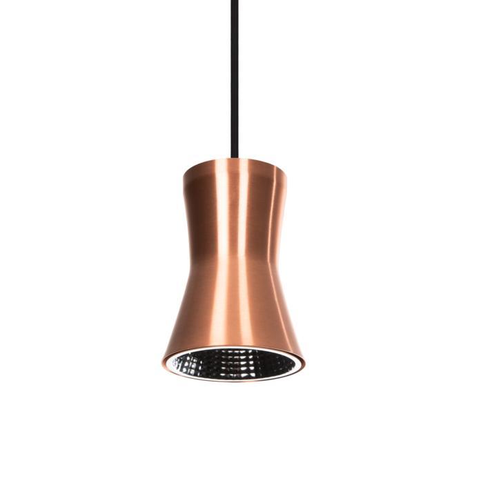 3405.B3/.. - CLARA XICATO, hanglamp met bolgewricht - stang inkortbaar - vast - met LED driver