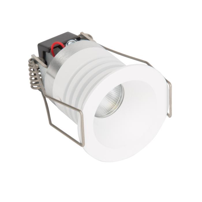 ZIALEDMIP44.S1/.. - Ø40 ZIA LED M IP44, rund - fest - mit Led - ohne Driver LED