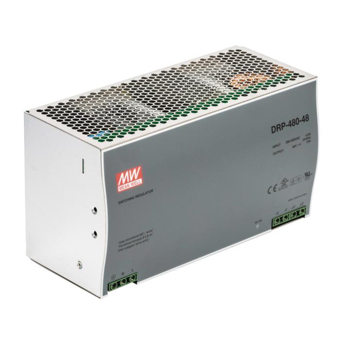 DRP48048/.. - TRANSFO, transfo - TRANSFO DINRAIL 480W 48VDC