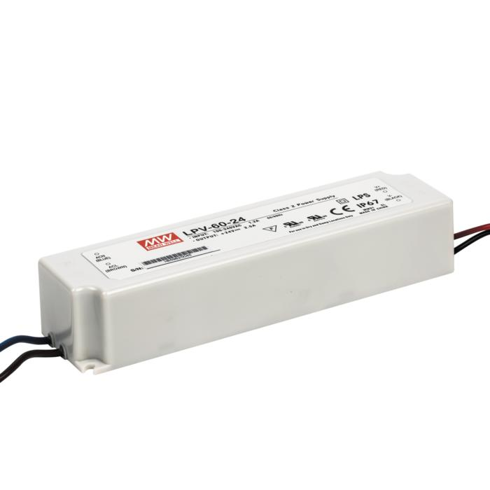 LPV6024/.. - TRANSFO, transfo - 60W 24VDC