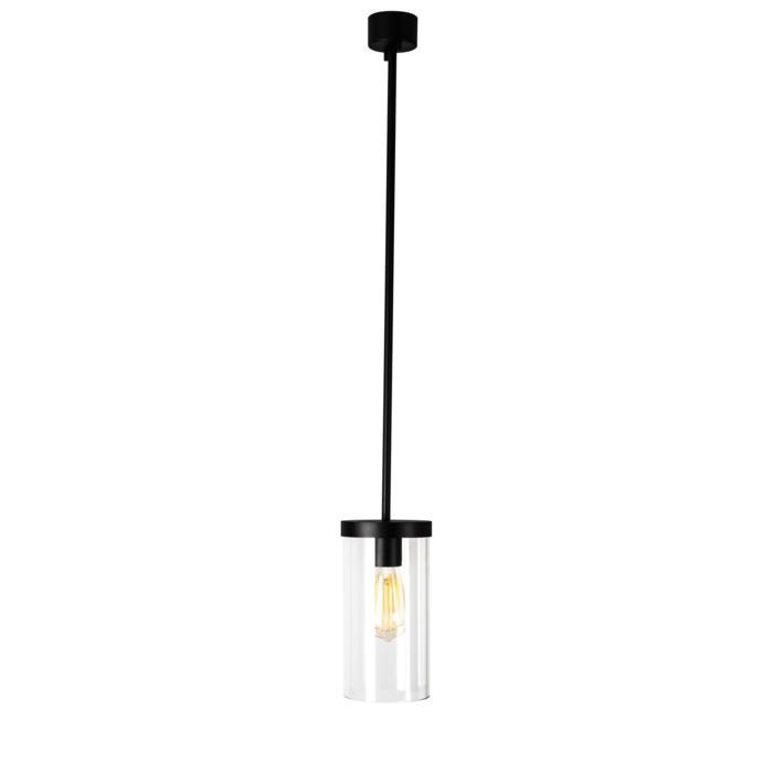 5073.B4/.. - POLINA, hanglamp met bolgewricht en opbouwdoos - glas H250