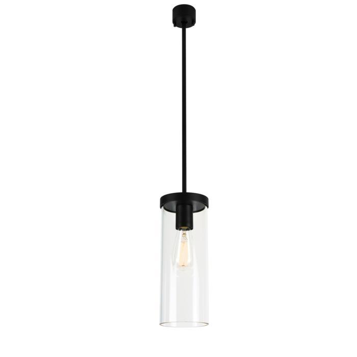 5071.B4/.. - POLINA, hanglamp met bolgewricht en opbouwdoos - glas H320