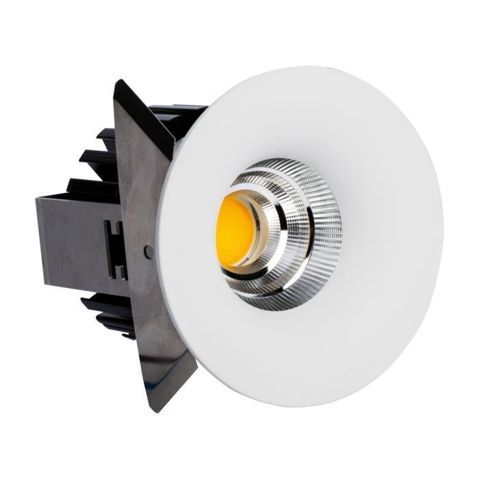 5221.S2/.. - FLOU XICATO, inbouwspot - rond - vast - down - met led - zonder LED driver