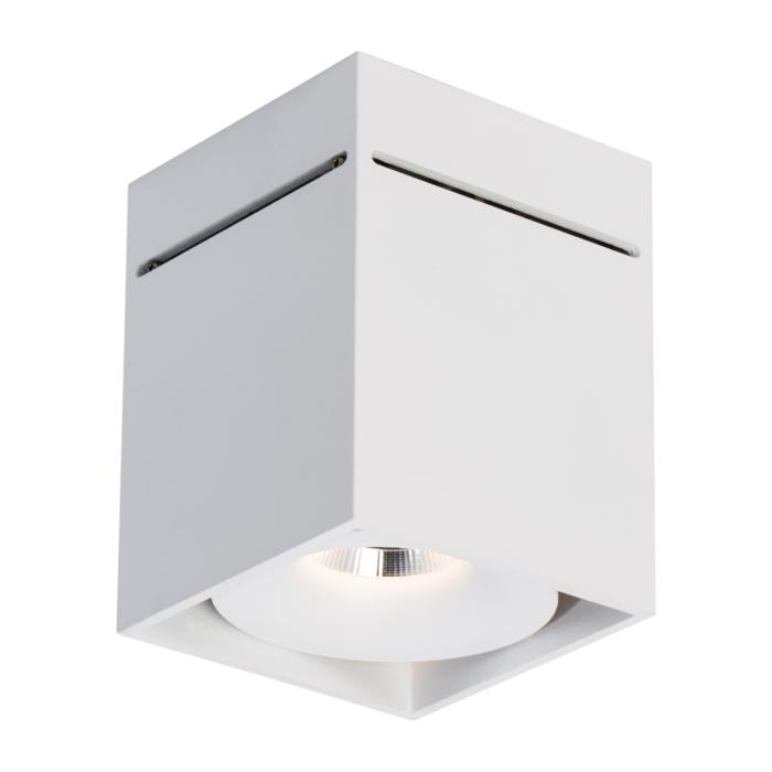 5226/.. - FLOU, opbouw plafondverlichting - vierkant - vast - down - met led