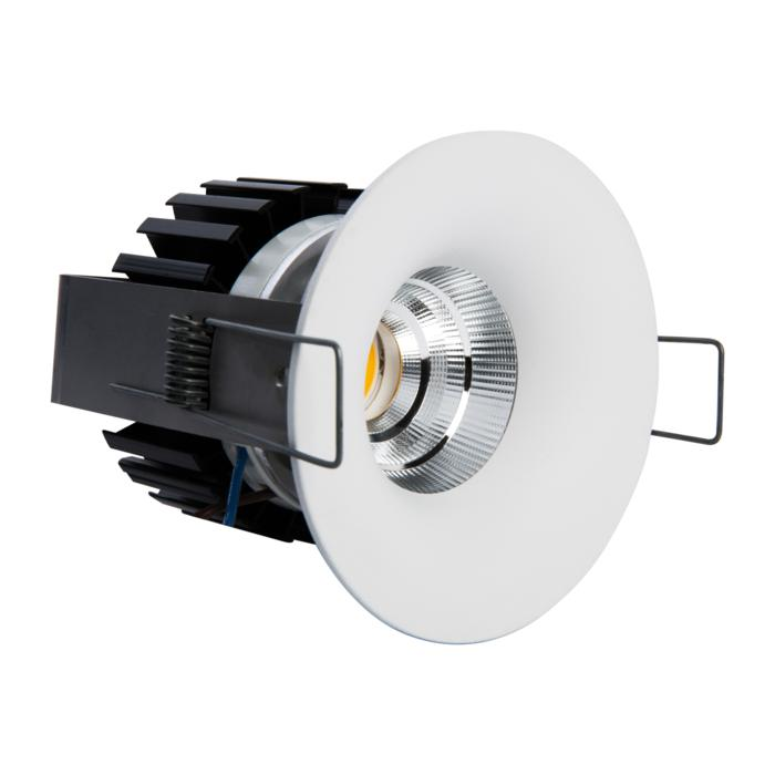 5221.S1/.. - FLOU XICATO, inbouwspot - rond - vast - down - met led - zonder LED driver
