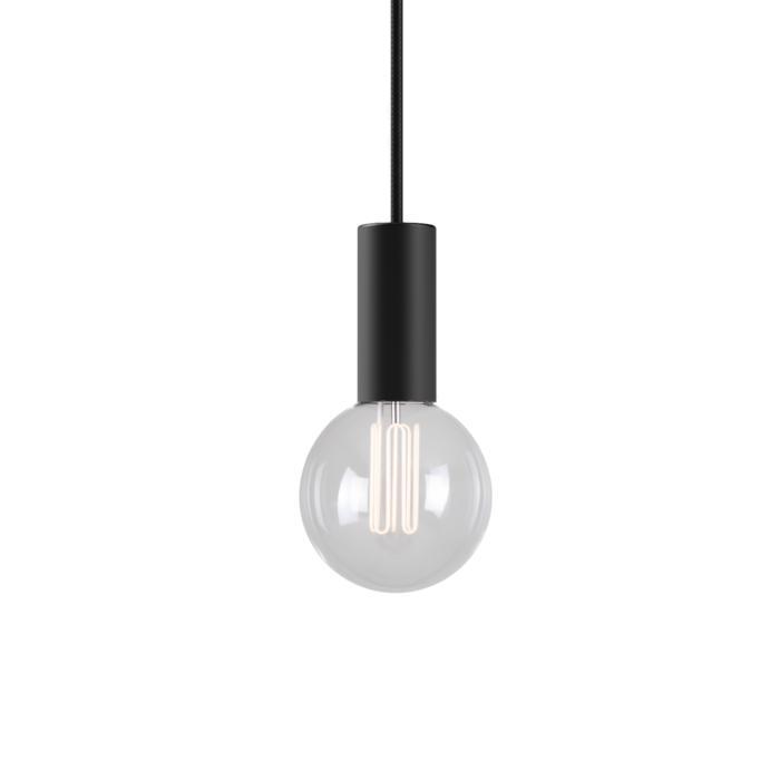 5016.4/.. - MAESTRO, hanglamp - met 4m textielkabel en trekontlasting aan fitting
