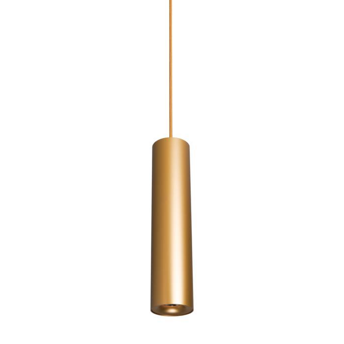 5227.400/.. - FLOU, hanglamp - rond - down - met 1,5m textielkabel en trekontlasting aan fitting