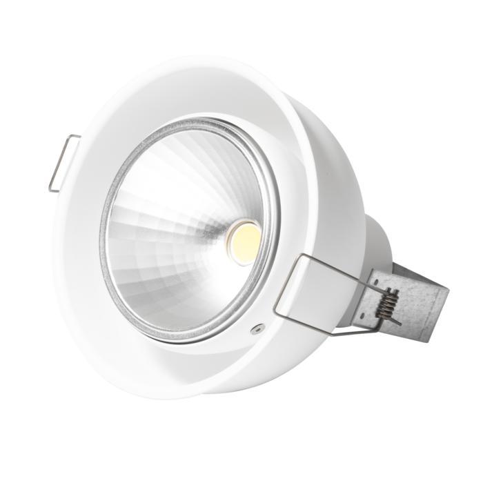 1808.XTM/.. - OLIVIA XICATO, half in- en opbouw plafondverlichting - rond - richtbaar - down - zonder LED driver