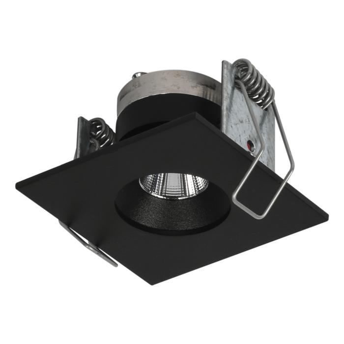 8362/.. - STELLA IN, inbouwspot - vierkant - vast - met ronde Zia Led - zonder LED driver