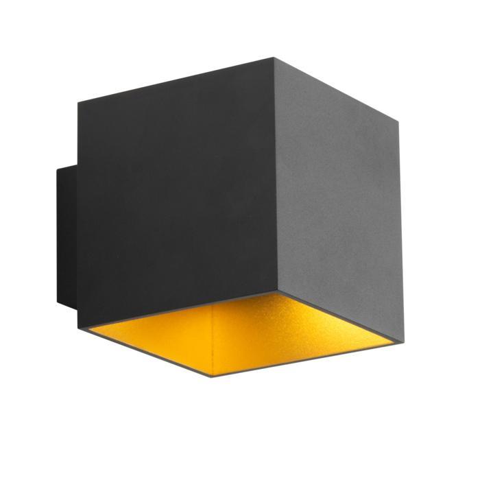 4037/.. - KOBUS, opbouw wandlicht - vierkant - vast - down/up - zonder LED driver