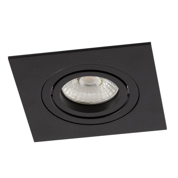 444.10013/.. - NOVA FLAT LED + DRIVER, inbouwspot - vierkant - richtbaar - dimbaar - kit (driver + led + spot) - met LED driver