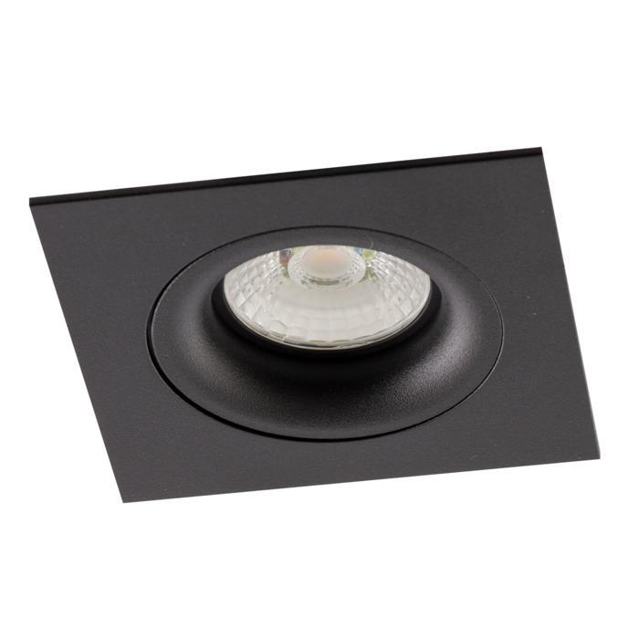 AC.700.10015/.. - NORA AC, inbouwspot - vierkant - vast - dimbaar fase aan & afsnijding - led 230V + lens