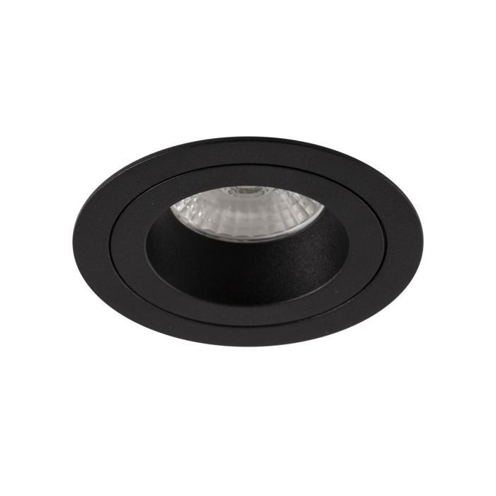 555.10017/.. - NOVA LED + DRIVER, inbouwspot - rond - vast - dimbaar - kit (driver + led + spot) - met LED driver