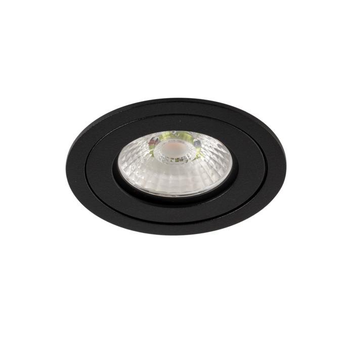 444.10024/.. - NOVA FLAT LED + DRIVER, inbouwspot - rond - vast - dimbaar - kit (driver + led + spot) - met LED driver