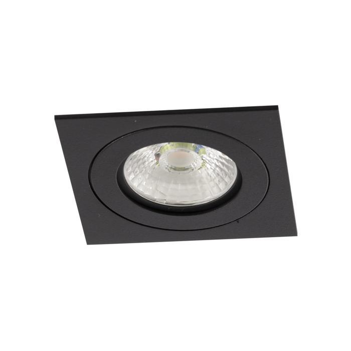 444.10025/.. - NOVA FLAT LED + DRIVER, inbouwspot - vierkant - vast - dimbaar - kit (driver + led + spot) - met LED driver