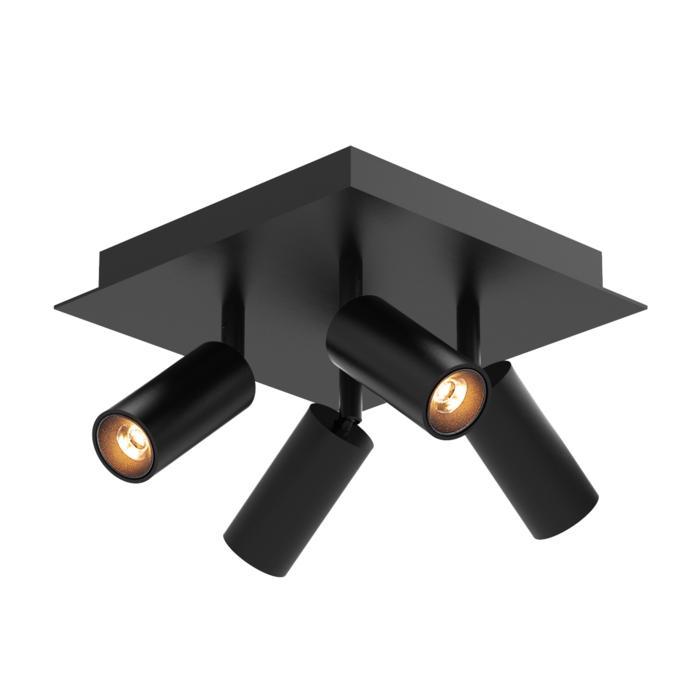 4525/.. - JACOBINE, opbouw plafondverlichting - richtbaar - met basis Texo - met LED driver