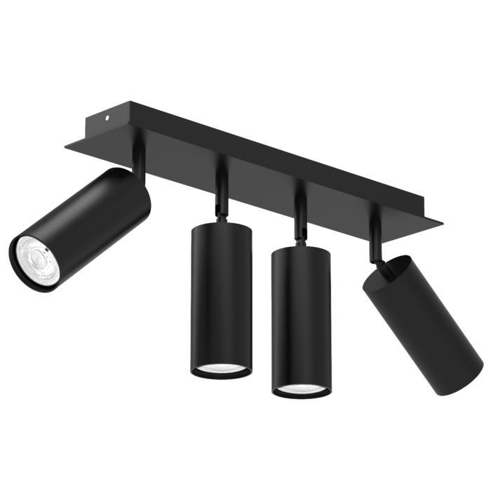 4539/.. - CAPUCINE XL, opbouw plafondverlichting - richtbaar - met basis Texo