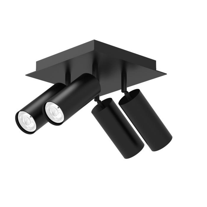 4540/.. - CAPUCINE XL, opbouw plafondverlichting - richtbaar - met basis Texo
