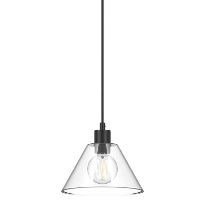 4600.J.E27.SH/.. - ICONIC SH, hanglamp - met 1,5m textielkabel en trekontlasting aan fitting