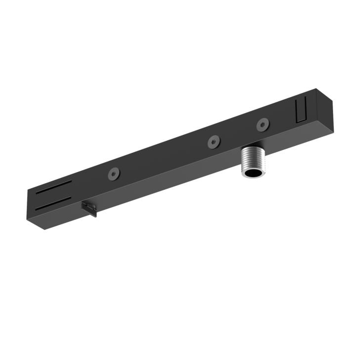 4820/.. - MERO 1FASE, Multi-adapter voor 1 circuit rail + montagenippel M10x1
