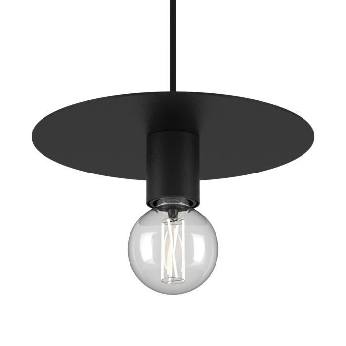 4982.E27/.. - ANGELO, hanglamp - rond - met 1,5m textielkabel en trekontlasting aan fitting