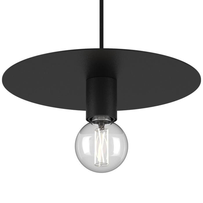 4983.E27/.. - ANGELO, hanglamp - rond - met 1,5m textielkabel en trekontlasting aan fitting