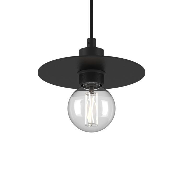 4985.SH.E27/.. - ANGELO, hanglamp - rond - met 1,5m textielkabel en trekontlasting aan fitting