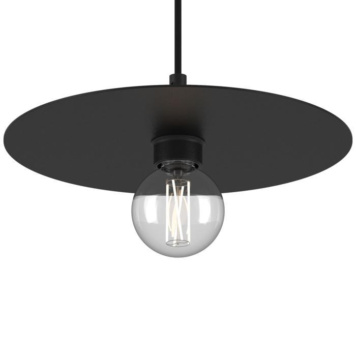 4986.SH.E27/.. - ANGELO, hanglamp - rond - met 1,5m textielkabel en trekontlasting aan fitting