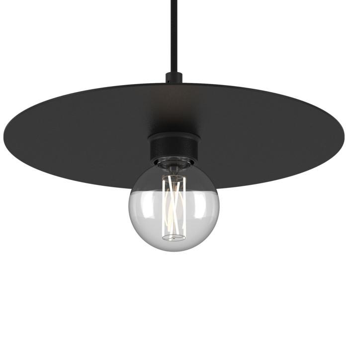 4987.SH.E27/.. - Angelo, hanglamp - rond - met 1,5m textielkabel en trekontlasting aan fitting