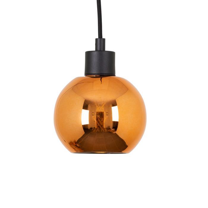 4996.A.E27.SH/.. - MOBY RKC, hanglamp - met 2m textielkabel en trekontlasting aan fitting