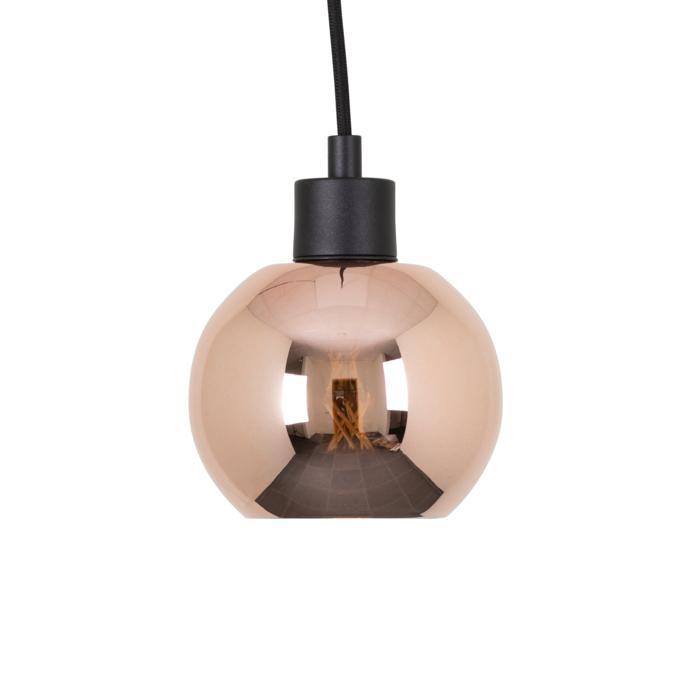 4997.A.E27.SH/.. - MOBY SH PINKY, hanglamp - met 2m textielkabel en trekontlasting aan fitting