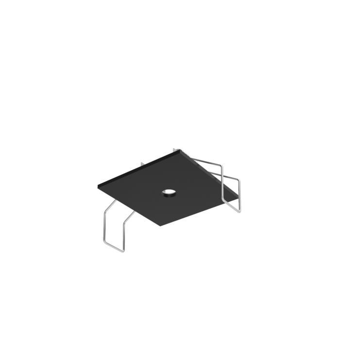 50.10/.. - ROSETTE, inbouwrozet  - vierkant