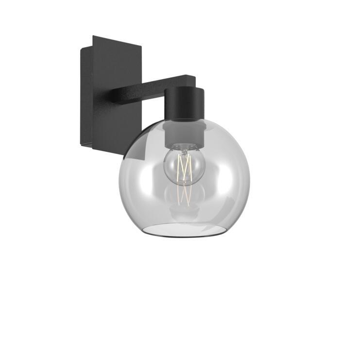 5160.A/.. - MOBY GLASS, opbouw wandlicht - vast - met E27 fitting