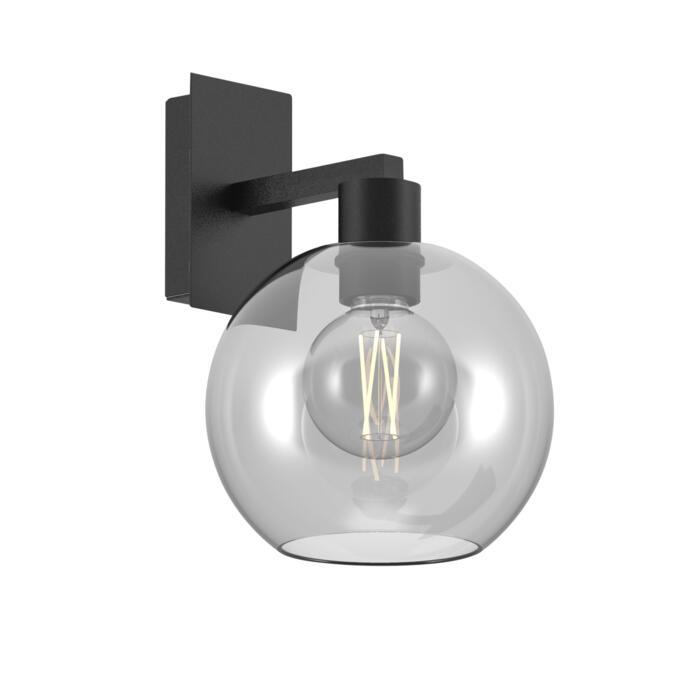 5160.B/.. - MOBY GLASS, opbouw wandlicht - vast - met E27 fitting