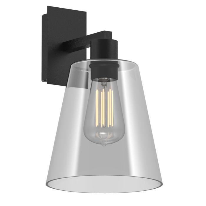 5531.A/.. - SHAKE GLASS, opbouw wandlicht - vast - met E27 fitting