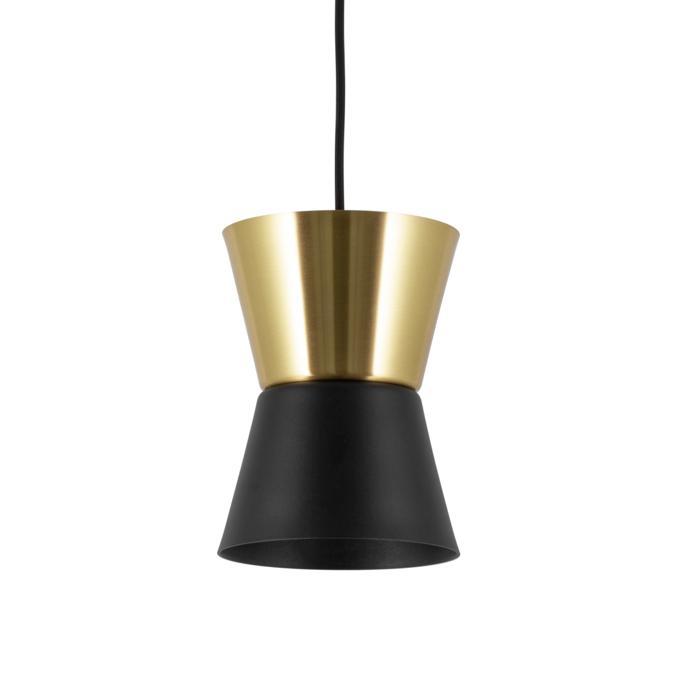 5537.E27.LED/.. - SHAKE METAL, hanglamp - down/up - met 1,5m textielkabel en trekontlasting aan fitting