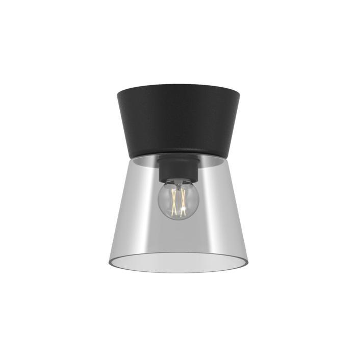 5558.E27/.. - SHAKE GLASS, opbouw plafondverlichting - vast - down - met glas