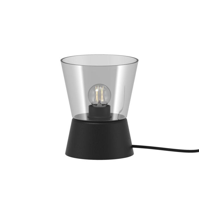 5560.E27/.. - SHAKE GLASS, tafellamp - vast - met snoer en stekker