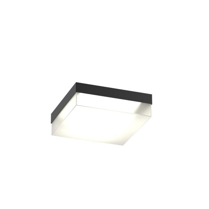 640.200.LED/.. - MONET CARRÉ, plafondverlichting - inox behuizing + polycarbonaat deksel