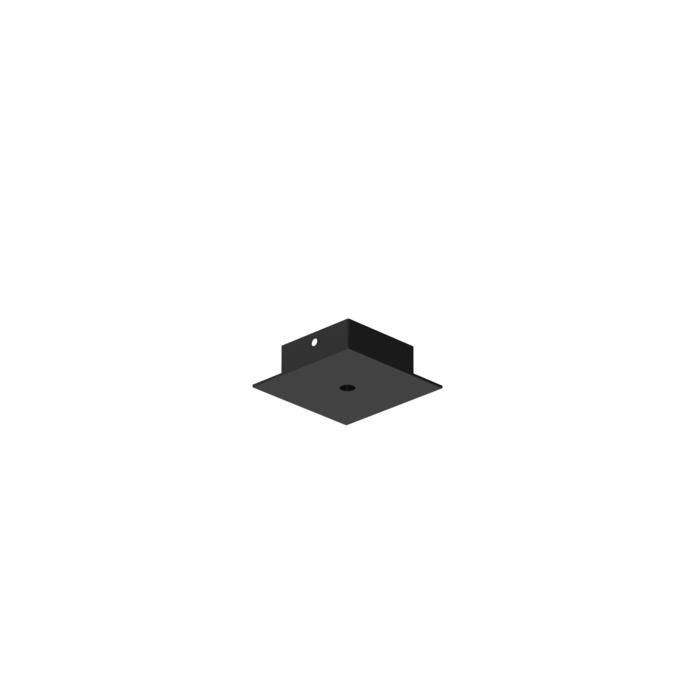 651/.. - TEXO, opbouwrozet - vierkant - geen plaats voor transfo