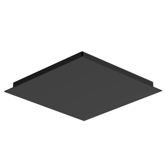 657/.. - TEXO, plafondverlichting - vierkante basis 350x350mm
