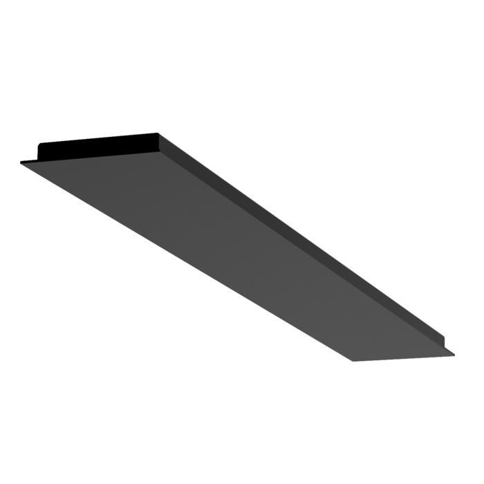 701.1600/.. - TEXO, rechthoekige basis voor opbouwspot of pendel
