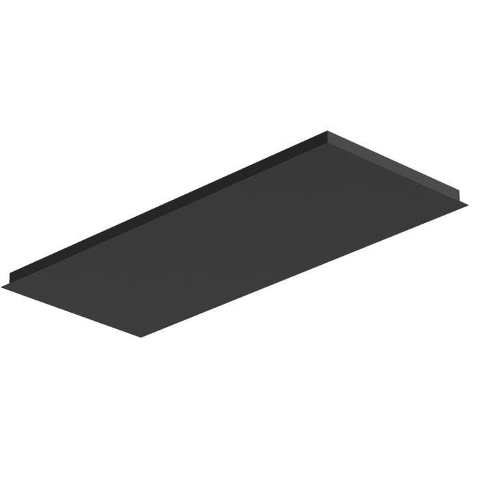 705.1200X500/.. - Texo, rechthoekige basis voor opbouwspot of pendel